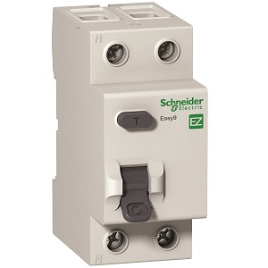 SCHNEIDER EASY9 63A DOUBLE POLE EARTH LEAKAGE