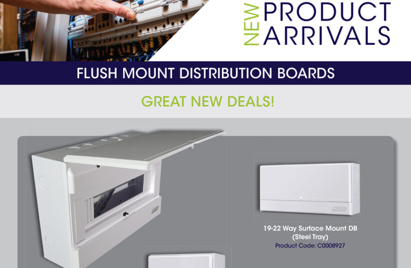 Flush Mount Distribution Boards