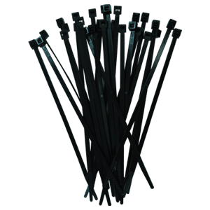 WEIDMULLER CABLE TIES CB390/4.5 BLACK 100 PIECES