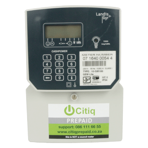 LANDIS & GYR PRE-PAID ELECTRICITY METER SINGLE PHASE GEMLITE