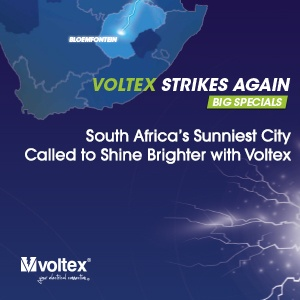 South Africa's sunniest city called to shine brighter with Voltex