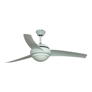 WACO CEILING FAN WHITE 52″ WITH REMOTE
