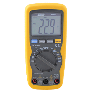 MAJOR TECH TEMPERATURE DATA MULTIMETER