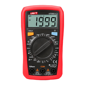 THREE-D PALM SIZE DIGITAL MULTIMETER UT33C+