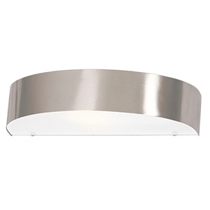 BRIGHTSTAR OUTDOOR LANTERN COMPACT FLUORESCENT STAINLESS STEEL FROSTED GLASS 1X11W