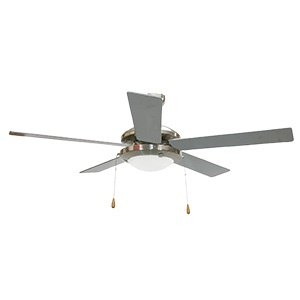 BRIGHTSTAR CEILING FAN 5 BLADE 52″ (132CM) SATIN CHROME FCF004