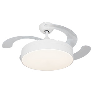 BRIGHTSTAR CEILING FAN 4 ABS BLADES 42″ (106CM) WHITE FCF055
