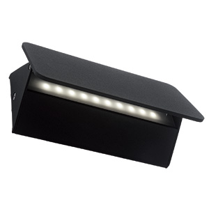 BRIGHTSTAR OUTDOOR WALL FITTING TOP FLAP UP OR DOWN FACING LIGHT IP54