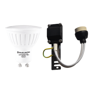 PIOLED 5.5W GU10 LAMP & LAMP HOLDER