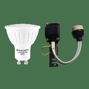 PIOLED 5.5W GU10 LAMP & LAMP HOLDER