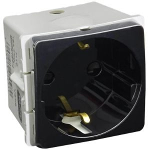 MAJOR TECH VETI SCHUKO SOCKET MODULE 16A V206BK