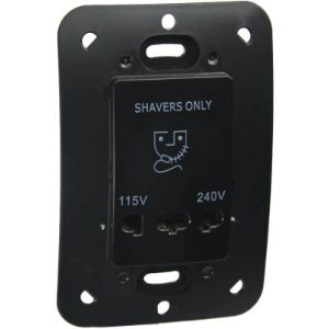 MAJOR TECH VETI SHAVER SOCKET 4X2 16A V23BK