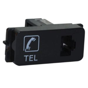 MAJOR TECH VETI TELEPHONE SOCKET MODULE RJ11 V304BK