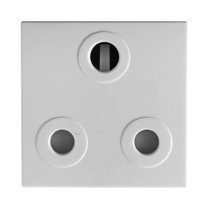 CRABTREE DIAMOND DUCTING 16A WHITE SOCKET MODULE