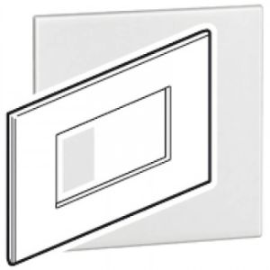 LEGRAND ARTEOR SWITCH COVER PLATE 4x2 4MOD WHITE 575030