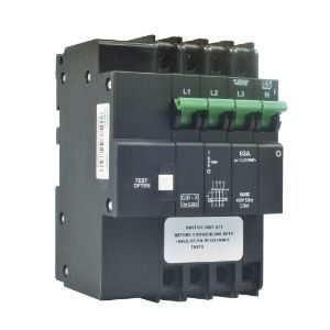 CBI EARTH LEAKAGE 63A 3POLE+NEUTRAL 3KA   QA36CW63