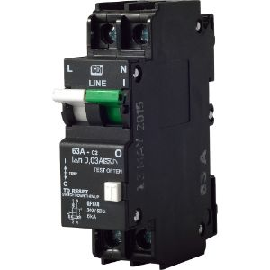 CBI EARTH LEAKAGE 40A SINGLE POLE+NEUTRAL 6KA  QF17A40