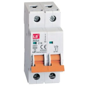 LS MINIATURE CIRCUIT BREAKER 20A 1POLE+NEUTRAL 6KA  06120207R0