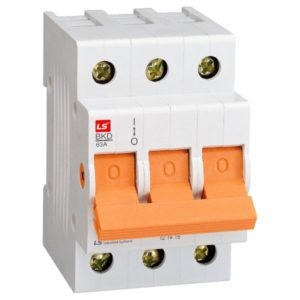 LS ROGY ISOLATOR 80A 3POLE DIN  06130381V0