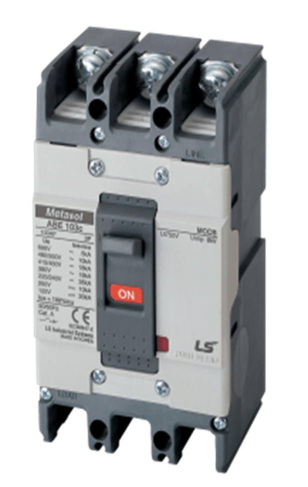 LS MOULDED CASE CIRCUIT BREAKER 100A 3POLE 18KA FIXED MAGNETIC 131008400