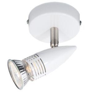 BRIGHTSTAR SPOTLIGHT 50W GU10 LED OR CFL S150/1 WHITE