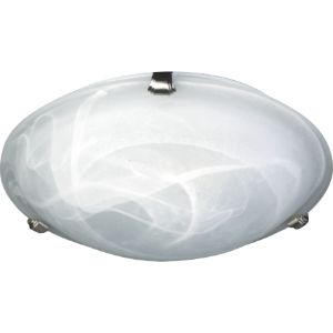 WACO CEILING FITTING 2XE27 ALB WHITE