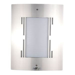 WACO WALL FITTING E27 STAINLESS STEEL JL2