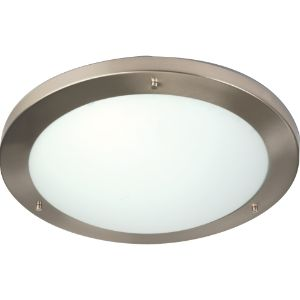 WACO CEILING FITTING 2 X E27 JD2-400 SATIN CHROME