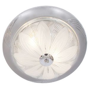 BRIGHTSTAR ROUND CEILING FITTING 2X60W E27 CF218