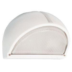 BRIGHTSTAR LEMON WEDGE BULKHEAD 60W E27 BH013 WHITE