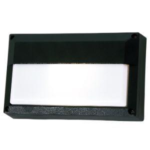 BRIGHTSTAR RECTANGLE BULKHEAD 15W E27 BH074 BLACK