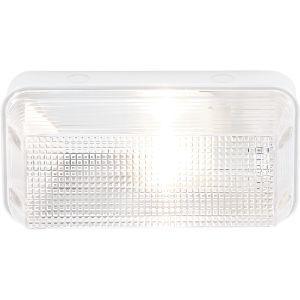 BRIGHTSTAR PLASTIC BULKHEAD 60W E27 BH110 WHITE