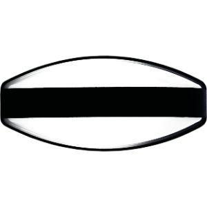 BRIGHTSTAR PLASTIC BULKHEAD 60W E27 BH112 BLACK