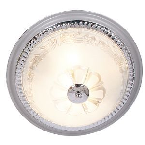 BRIGHTSTAR ROUND CEILING FITTING 2X60W E27 CF219 CHROME