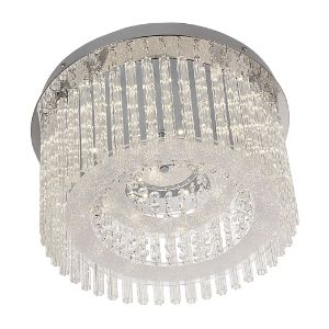 BRIGHTSTAR CEILING FITTING 18W CRYSTAL CF294