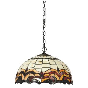 BRIGHTSTAR PENDANT FITTING 60W E27 BROWN PEN410