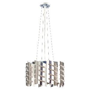 BRIGHTSTAR PENDANT FITTING 4X11W E14 CHROME PEN909