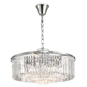 BRIGHTSTAR PENDANT FITTING 8X40W E14 CRYSTAL PEN692/8